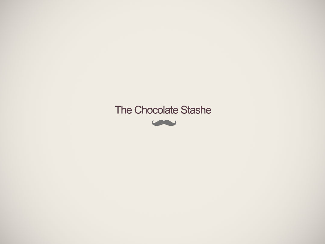 The Chocolate Stashe Logo